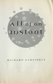 Cover of: All of an instant