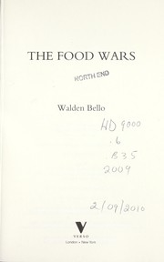 Cover of: The food wars | Walden F. Bello