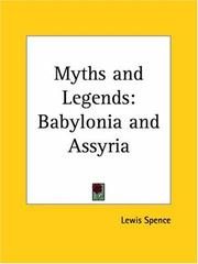 Cover of: Myths and Legends of Babylonia and Assyria