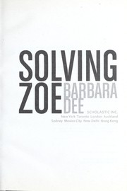 Cover of: Solving Zoe