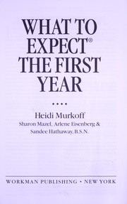 Cover of: What to expect when you