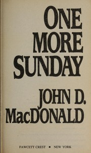 Cover of: One more Sunday