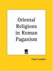 Cover of: Oriental Religions in Roman Paganism