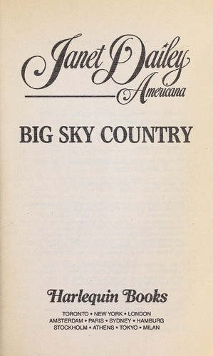 Big sky country : Montana by