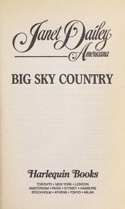 Cover of: Big sky country : Montana |