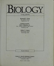 Cover of: Biology : living systems |