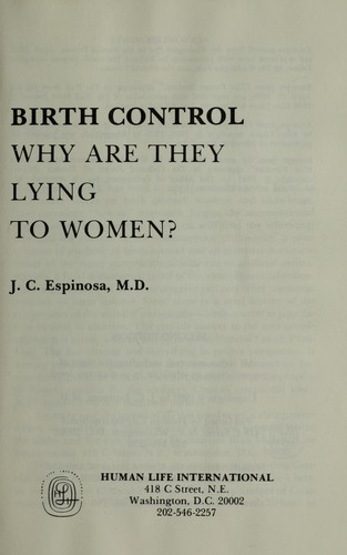 Birth control by J. C. Espinosa