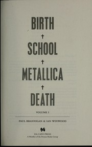 Cover of: Birth school Metallica death