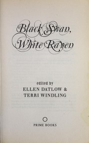 Cover of: Black Swan, White Raven