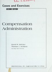 Cover of: Compensation administration