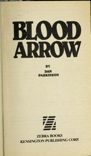 Cover of: Blood arrow | Dan Parkinson
