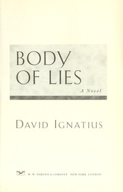 Cover of: Body of lies