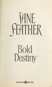 Cover of: Bold destiny