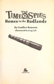Cover of: Bones in the badlands