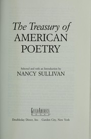 Cover of: The Treasury of American poetry |