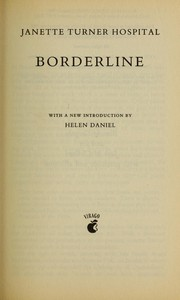 Cover of: Borderline