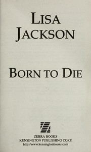 Cover of: Born to die