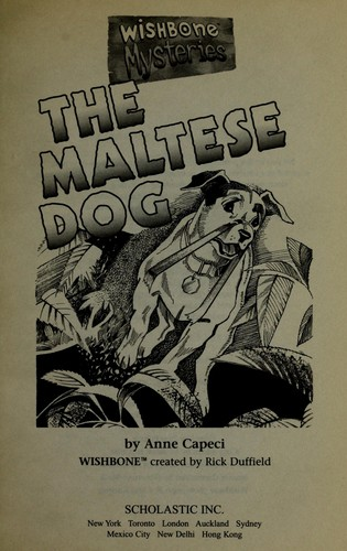 The Maltese dog by Anne Capeci