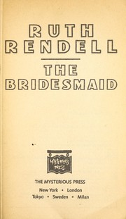 Cover of: The bridesmaid