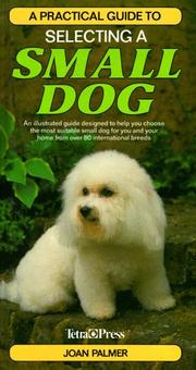 Cover of: A Practical Guide to Selecting a Small Dog