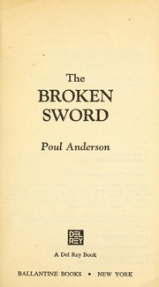 Cover of: The broken sword