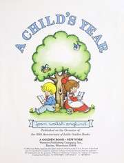 Cover of: A child's year