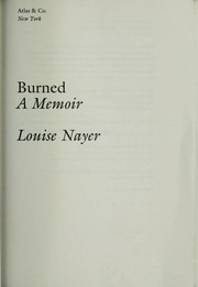 Cover of: Burned | Louise Nayer
