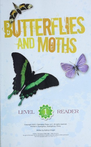 Butterflies and moths by Kathryn Knight