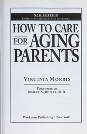 Cover of: How to care for aging parents | Virginia Morris