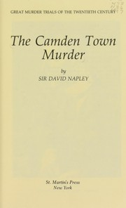 Cover of: The Camden Town murder
