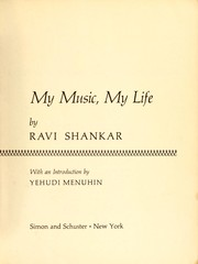 Cover of: My music, my life