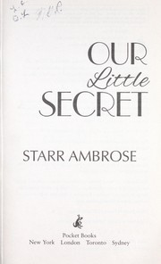 Cover of: Our little secret