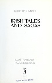 Cover of: Irish Tales and Sagas | O'Connor, Ulick.