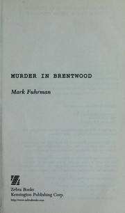 Cover of: Murder in Brentwood