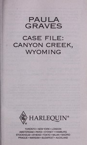 Cover of: Case file: Canyon Creek, Wyoming