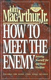 Cover of: How to meet the enemy