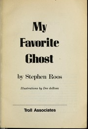 Cover of: My favorite ghost