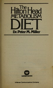 Cover of: The Hilton Head metabolism diet
