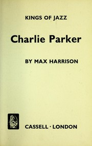 Cover of: Charlie Parker. [With portraits.].