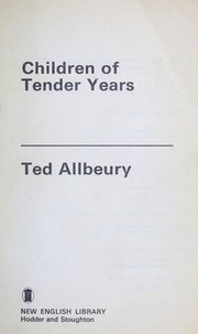 Cover of: Children of tender years