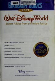 Cover of: Birnbaum guides Walt Disney World 2009