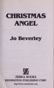 Cover of: Christmas angel | Jo Beverley