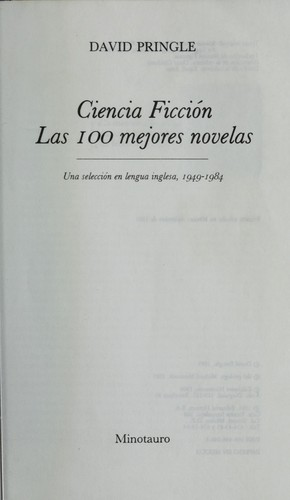 Ciencia ficcio n by David Pringle