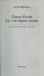 Cover of: Ciencia ficcio n | David Pringle