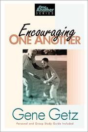 Cover of: Encouraging one another
