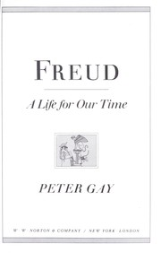 Cover of: Freud : a life for our time |