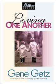 Cover of: Loving one another