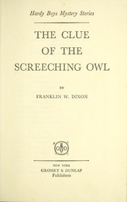 Cover of: The clue of the screeching owl