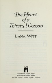 Cover of: The heart of a thirsty woman