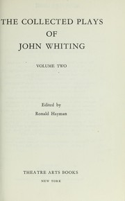Cover of: The collected plays of John Whiting